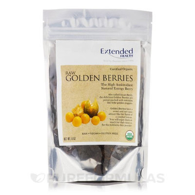 Organic Raw Golden Berries 6oz by Extended Health