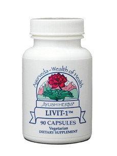 InterPlexus - Ayush Herbs Livit 1 - 90 Vegetarian Capsules