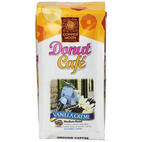 Copper Moon Donut Cafe Ground Coffee, Vanilla Creme Medium Roast, 16-Ounce Bag