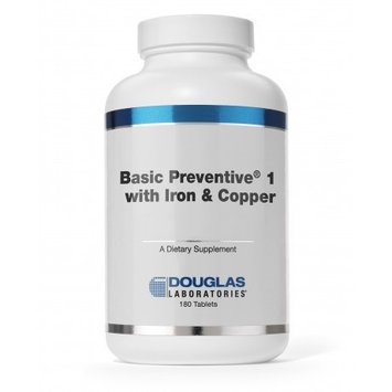 Douglas Labs Basic Preventive 1 (+ FE & CU) 180 tabs