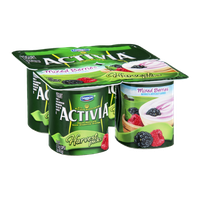 Dannon Activia Mixed Berries Harvest Picks Yogurt
