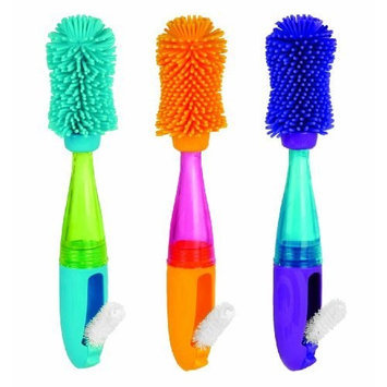 Sassy No Scratch Bottle Brush, Colors May Vary (Discontinued by Manufacturer)