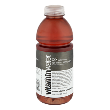 Glaceau Vitamin Water XXX Acai-Bluberry-Pomegranate Nutrient Enhanced Water Beverage