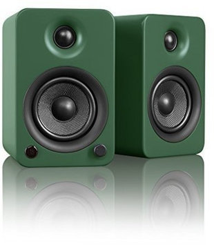 Kanto YU3MN Powered Bookshelf Speakers Matte Green HEC0G8MJS-1612