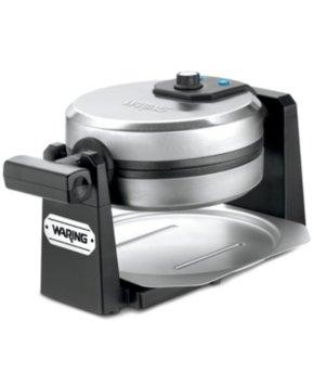 Waring Pro Brushed Stainless Steel Belgian Waffle Maker