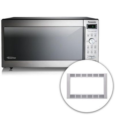 Panasonic NN-SD772S + NN-TK722SS Full Size Microwave Oven W/ Inverter Technology And Filter