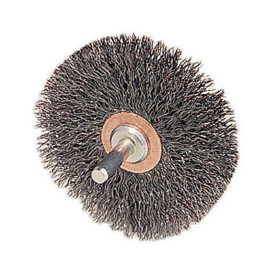 Weiler Stem-Mounted Conflex Brushes - cfx-2 .0062in dia ste