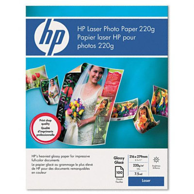Hewlett Packard Q6608a Color Laserjet Photo Paper