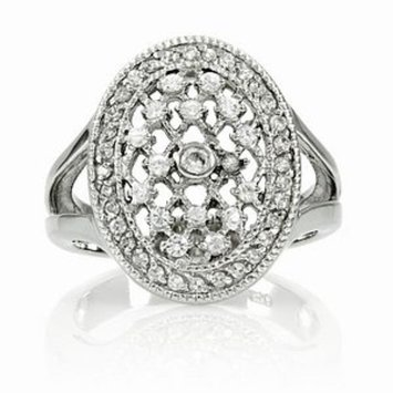 Emitations Leeva's CZ Diamond Wedding Ring