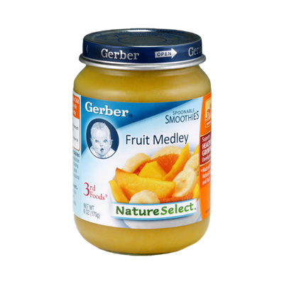 Gerber Nature Select 3rd Foods Fruit Medley