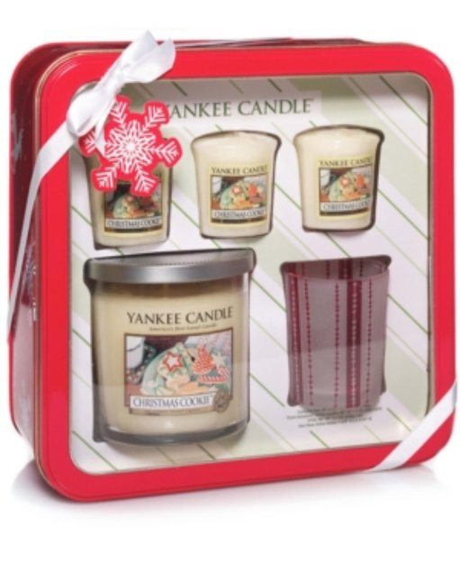 Yankee Candle Holiday Christmas Cookie Gift Set