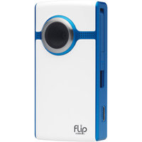 Flip Video Flip UltraHD U260 Blue Video Camera, 1 Hour Recording Time (3rd Gen - Newest)