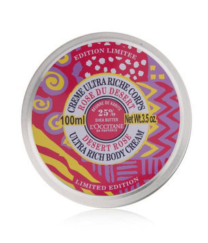 L'Occitane Desert Rose Ultra Rich Body Cream Limited Edition