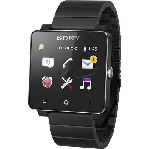 Sony - SmartWatch 2 for Select Android Devices - Black
