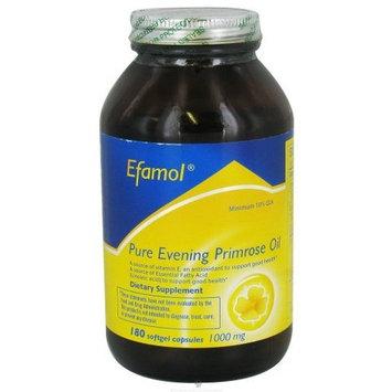 Flora Efamol, Pure Evening Primrose Oil, 1000 mg, 180 Softgels