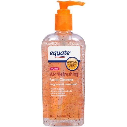 Equate Beauty AM Refreshing Facial Cleanser, 8 fl oz