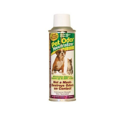 Urine Off Pet Odor Neutralizer Fogging Canister 6.25oz