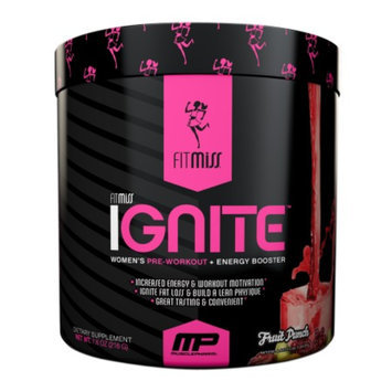 FitMiss Ignite Women's Pre-Workout Fruit Punch