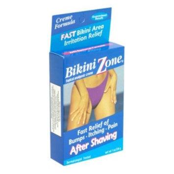 Bikini Zone Topical Analgesic Creme After Shaving, 1 oz (28 g)