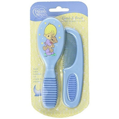 Nuby Precious Moments Printed Comb and Brush, Colors May Vary (Discontinued by Manufacturer)