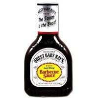 Swee-touch-nee SWEET BABY RAY'S BBQ BARBEQUE SAUCE ORIGINAL SQUEEZABLE 28 OZ