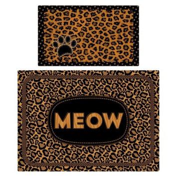 RPM International, Inc. Drymate Multi-Use Exotics Pet Mat Set - Leopard Brown (2 Count)