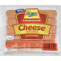 WILLIAM FISCHER PREMIUM DELI Fischer's Cheese Wieners, 10 count, 12 oz