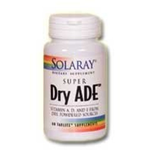 Solaray - Super Dry Ade, 60 capsules [Health and Beauty]