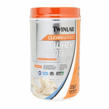 Twinlab Clean Series Whey Protein Isolate - Vanilla