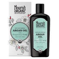 Nourish Organic Replenishing Argan Oil for Face/Hair/Body - 3.4 oz