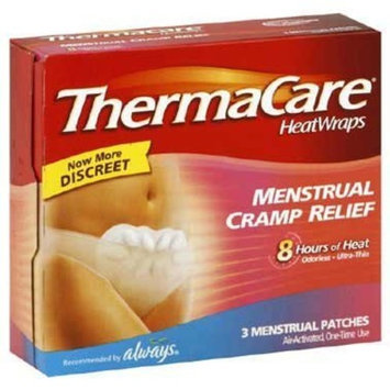 Wyeth Thermacare Heat Wraps Menstrual Cramp Relief
