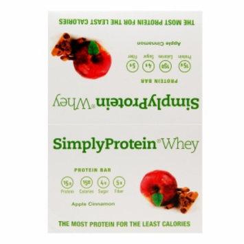 Simply Protein Whey Protein Bars, Apple Cinnamon, 12 ea
