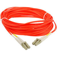 SIIG Multimode 50/125 Duplex Fiber Patch Cable LC/LC, 5m
