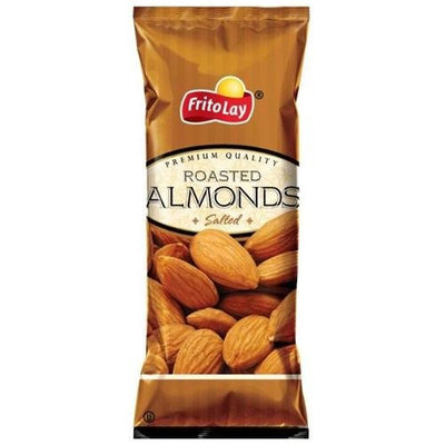 Frito Lay Premium Almonds, 3 Oz Bags (Pack of 16)