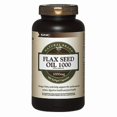 GNC Natural Brand Flax Seed Oil 1000