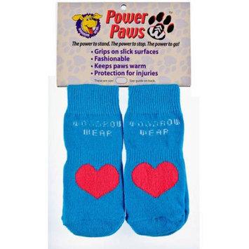 Woodrow Wear Power Paws Advanced Medium Blue/Red Heart