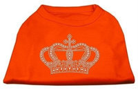 Ahi Rhinestone Crown Shirts Orange XXL (18)