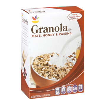 Ahold Granola Oats, Honey & Raisins