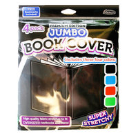 Its Academic It's Academic Premium Edition Jumbo Book Cover, 4pc