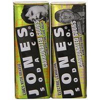 Jones Soda Sampler Jones Carbonated Sours Flavors, 6-Count, (Pack of 2)