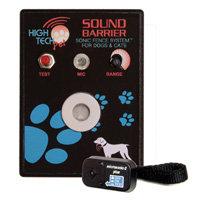 High Tech Pet Sound Barrier Indoor Sonic Fence SB-1