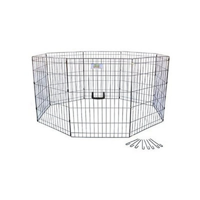 Go Pet Club 42-Inch High Wire Play Pen 8-Panels