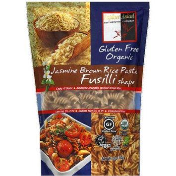 Explore Asian n Fusilli Shape Rice Pasta, 12 oz, (Pack of 6)