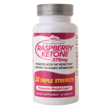 Healthy Natural Systems Raspberry Ketone 375mg