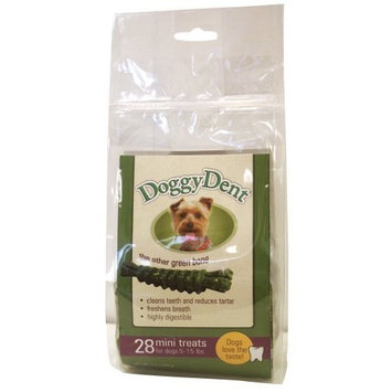 Sergeant's Pet Sergeant's Doggy Dent Mini 28-Count Dog Dental Chew