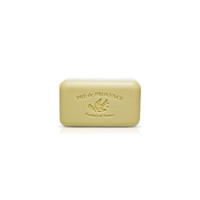 Pre De Provence Green Tea Soap, 150g wrapped bar. Imported from France. With shea butter and natural herbs and scents.