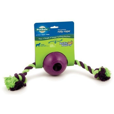 Premier PetSafe Busy Buddy Roly Rope Dog Toy, Large