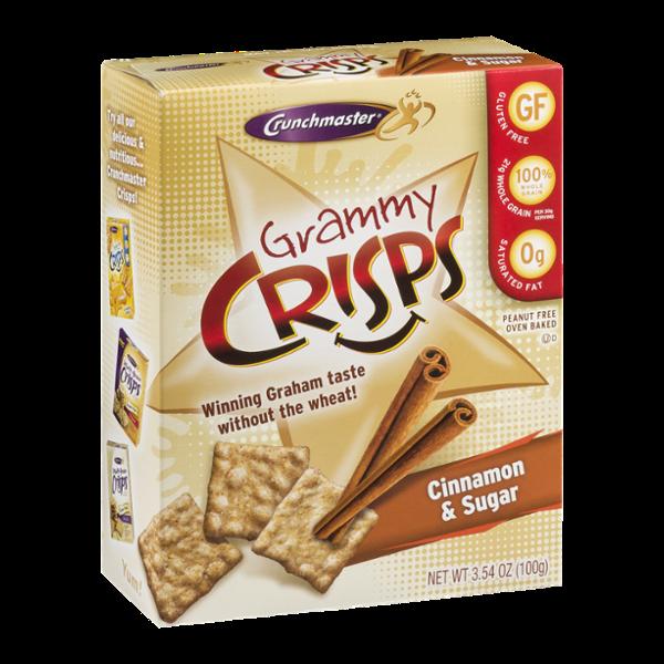 Crunchmaster Grammy Crisps Cinnamon & Sugar