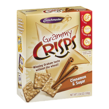 Crunchmaster Grammy Crisps Cinnamon & Sugar