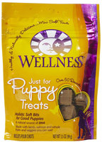 Wellness Complete Health Just For Puppy Lamb, Oatmeal & Salmon Treats